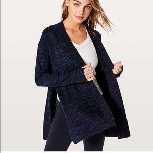 LULULEMON Blissful Zen Cardigan 100% Merino wool